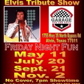 The Garage Bar & Grill Elvis Tribute