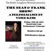 Butler Longhorn Museum Benefit (DEAN, FRANK & MORE SOLO SHOW)
