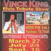 Elvis Tribute Solo Show @ ÑECAS Mexican Restaurant