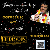 Dinner with ELVIS at Rendezvous